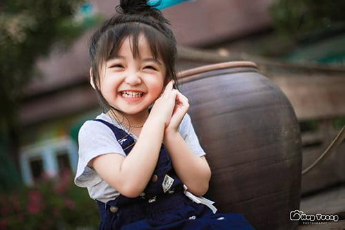Khi thiên thần nhỏ cười