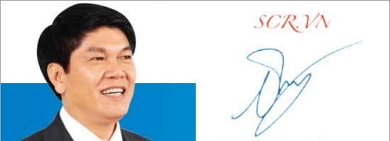 Mẫu Chữ Ký Tay Của Ông Trần Đình Long - Chủ tịch tập đoàn Hòa Phát