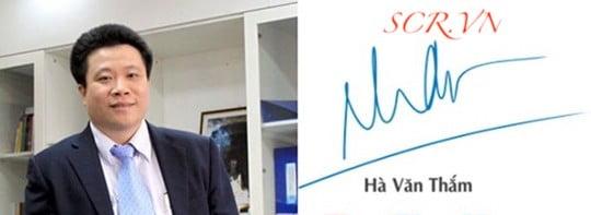 Mẫu Chữ Ký Tay Theo Tên Ông Hà Văn Thắm - Chủ tịch Ocean Group