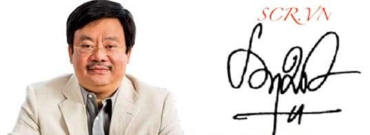 Mẫu chữ ký tay theo tên Ông Nguyễn Đăng Quang - Chủ tích Masan Group
