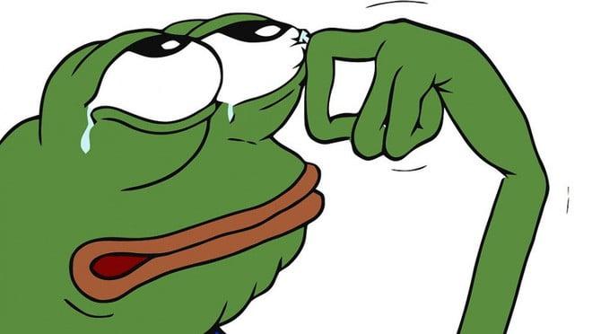 Meme chế con ếch