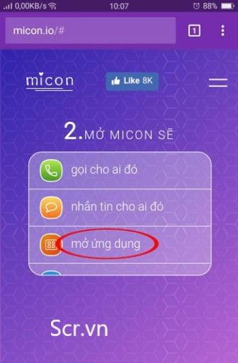 Micon tạo icon đẹp