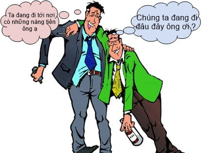 Những bức ảnh hài hước về nhậu say xỉn