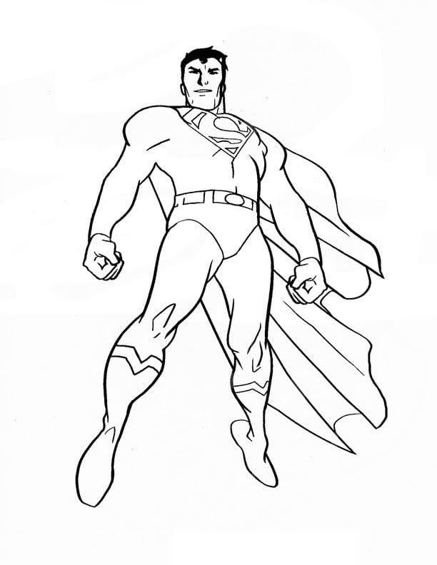 Tranh Superman