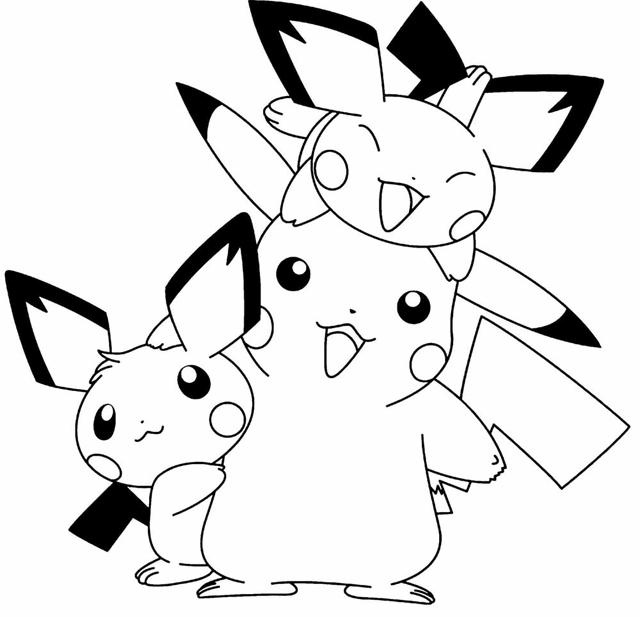 Tô màu Pokemon