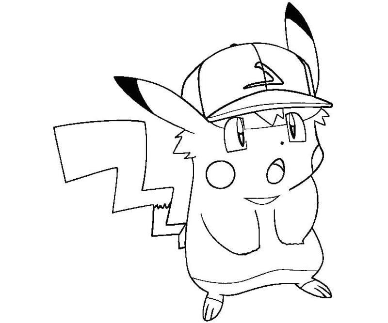 Tô màu cho Pikachu