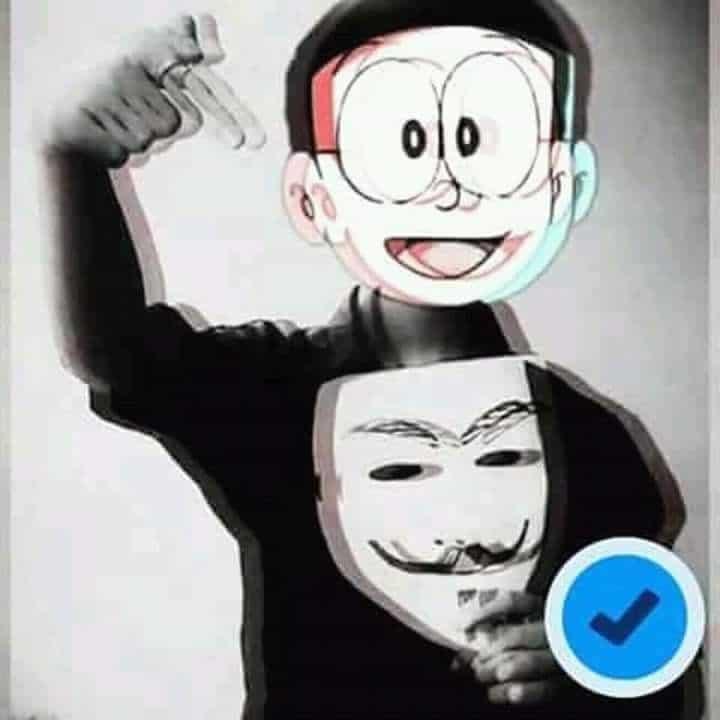 Tải hình chế hacker Nobita