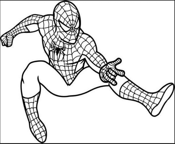 Tranh người nhện cực ngầu