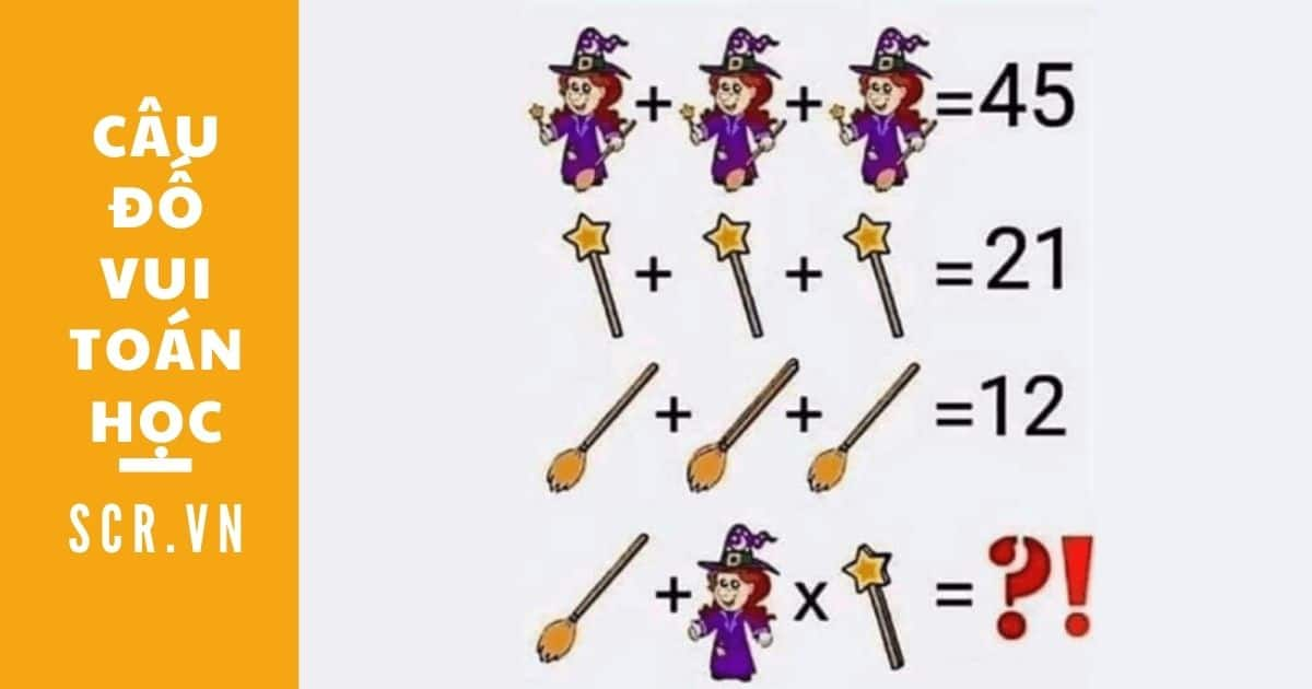 câu đố vui toán học