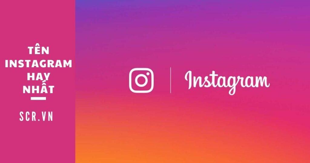 tên instagram hay nhất