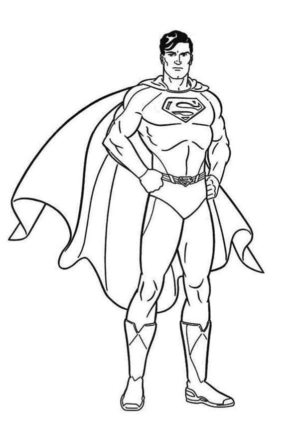 Ảnh siêu nhân tô màu