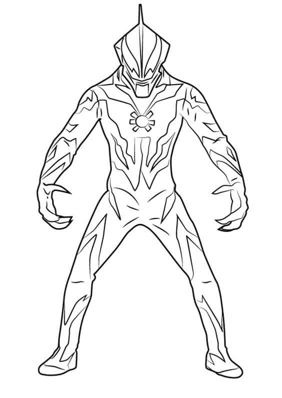 Ảnh tô màu siêu nhân điện quang
