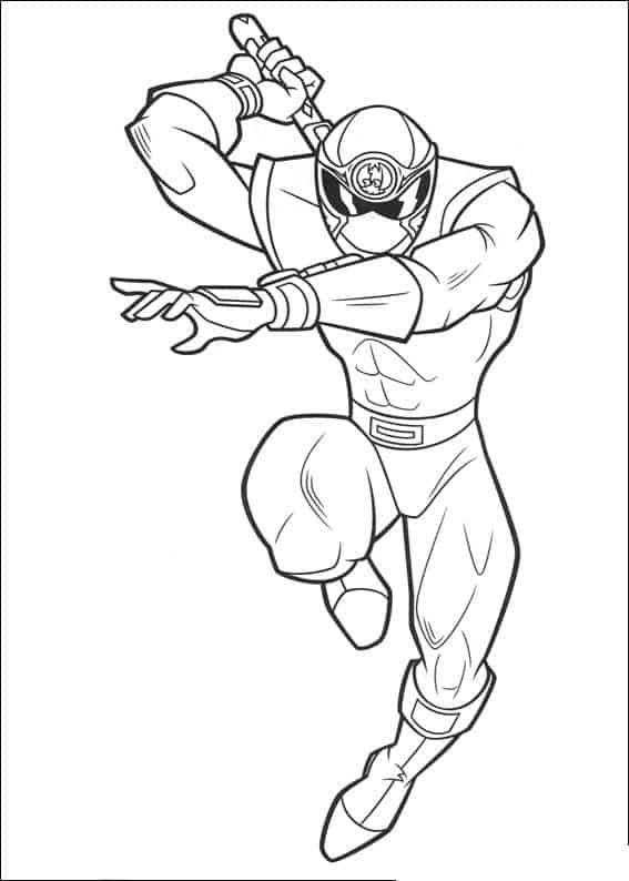 Ảnh tô màu siêu nhân kiếm
