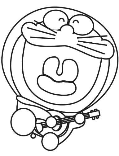Doremon đàn hát yêu đời