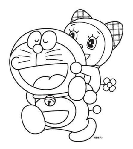 Hình Doremon và Doremi