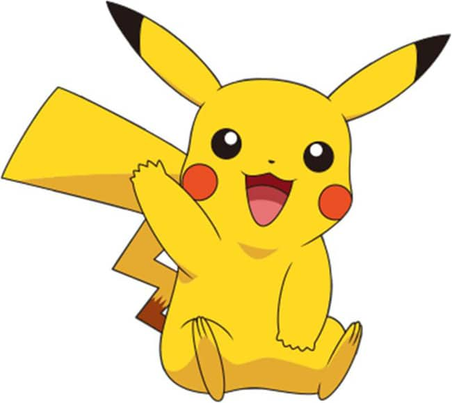 Hình Pikachu hoạt hình
