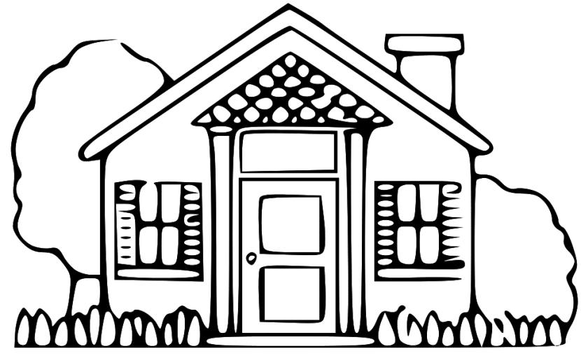 Hình ảnh ngôi nhà của bé