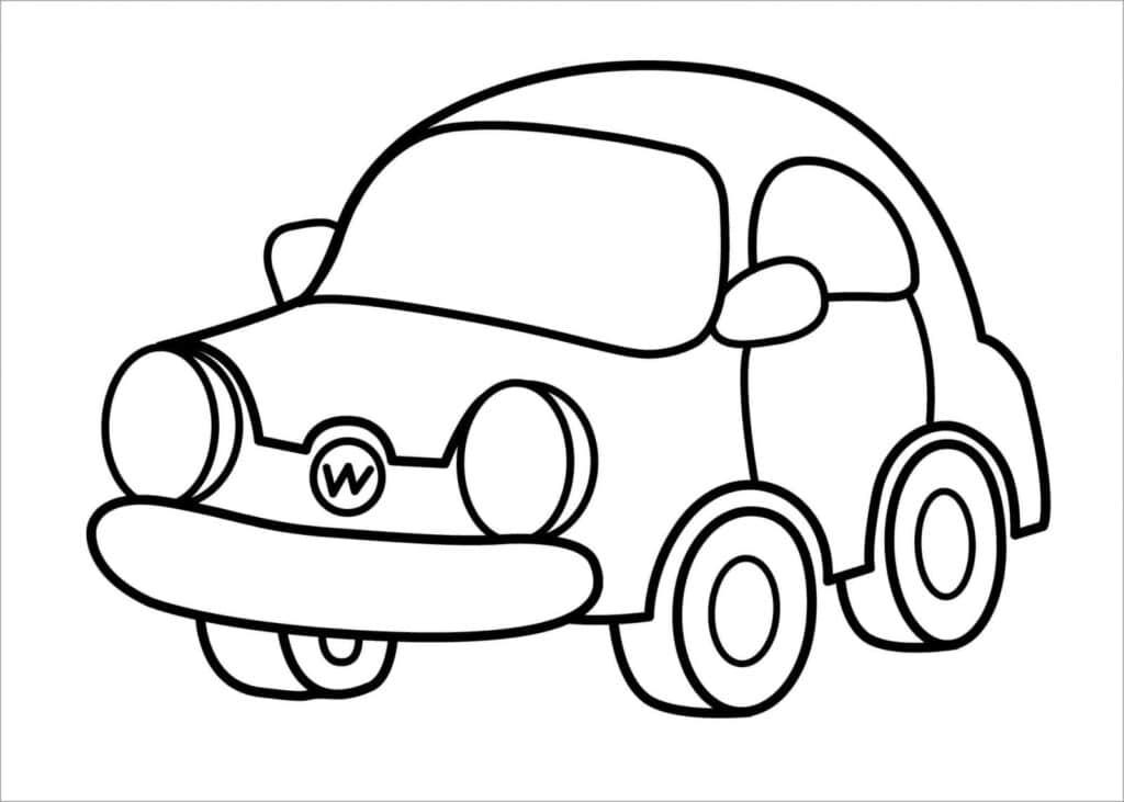 Hình ô tô cho bé trai 3 tuổi đẹp