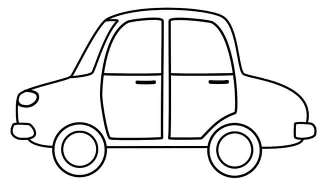 Hình ô tô cho bé trai 3 tuổi