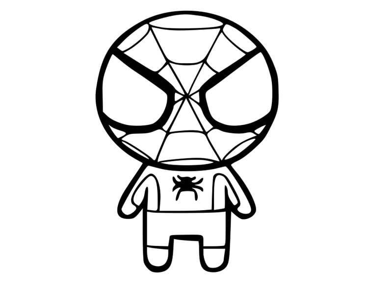 Hình siêu nhân nhện nhí