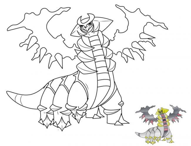 Hình tô màu Pokemon hệ cỏ bé tập tô
