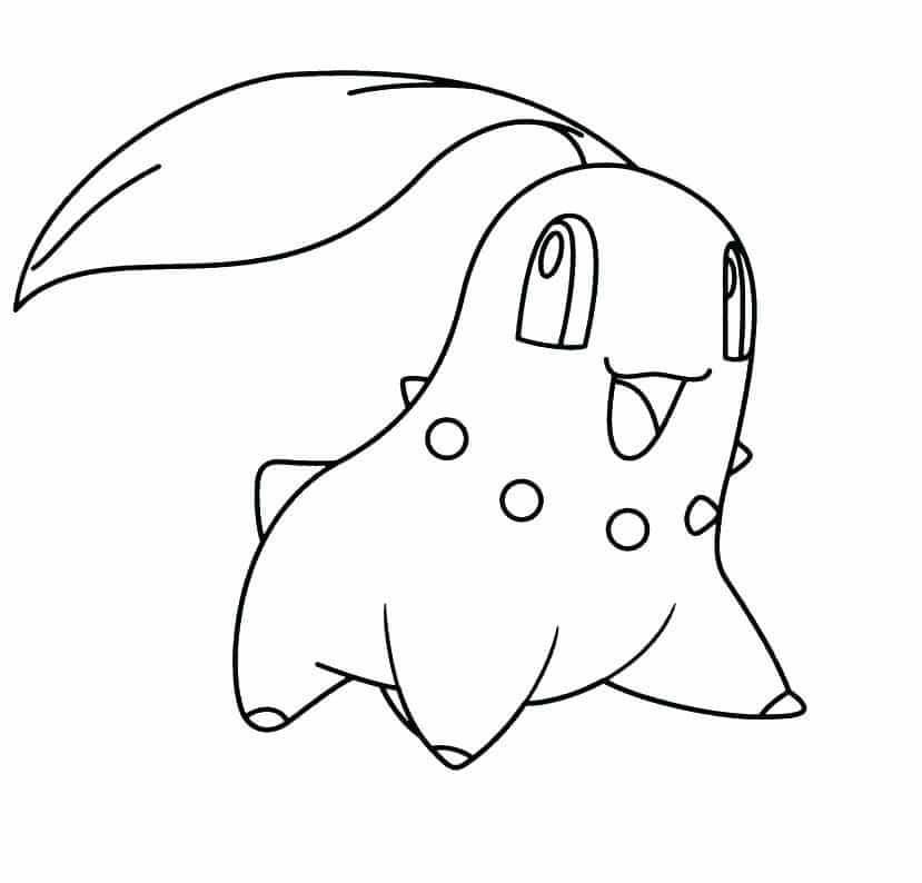 Hình tô màu Pokemon hệ nước