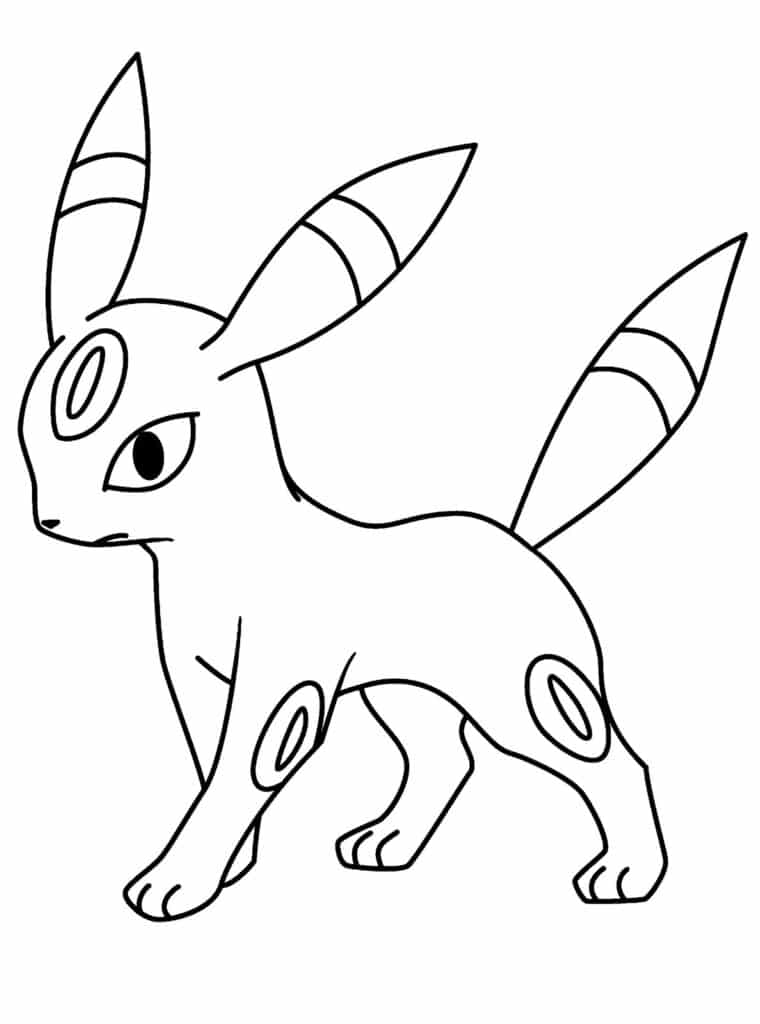 Hình tô màu Pokemon hệ tiên