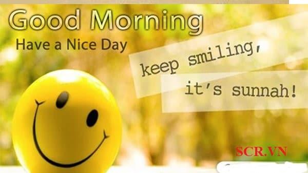 Tin nhắn chào ngày mới cho bạn bè