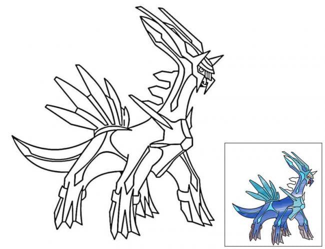 Tranh Pokemon Arceus