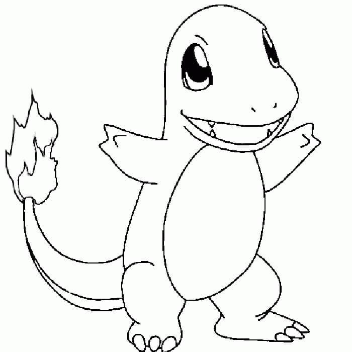 Pokemon Hệ lửa tô màu