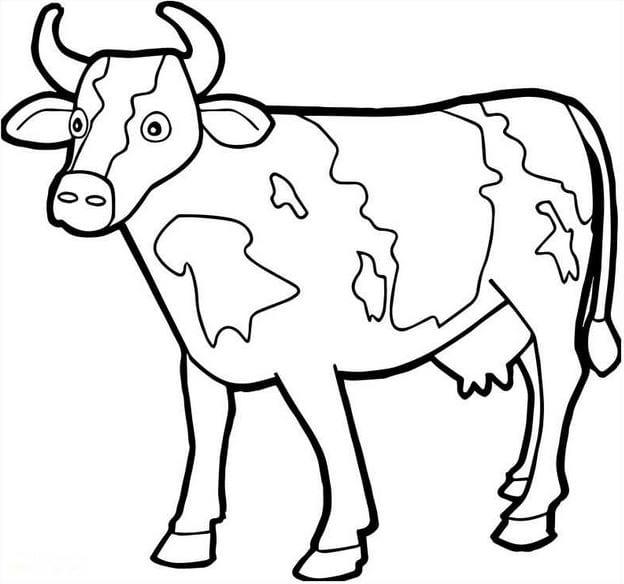 Tranh con bò sữa