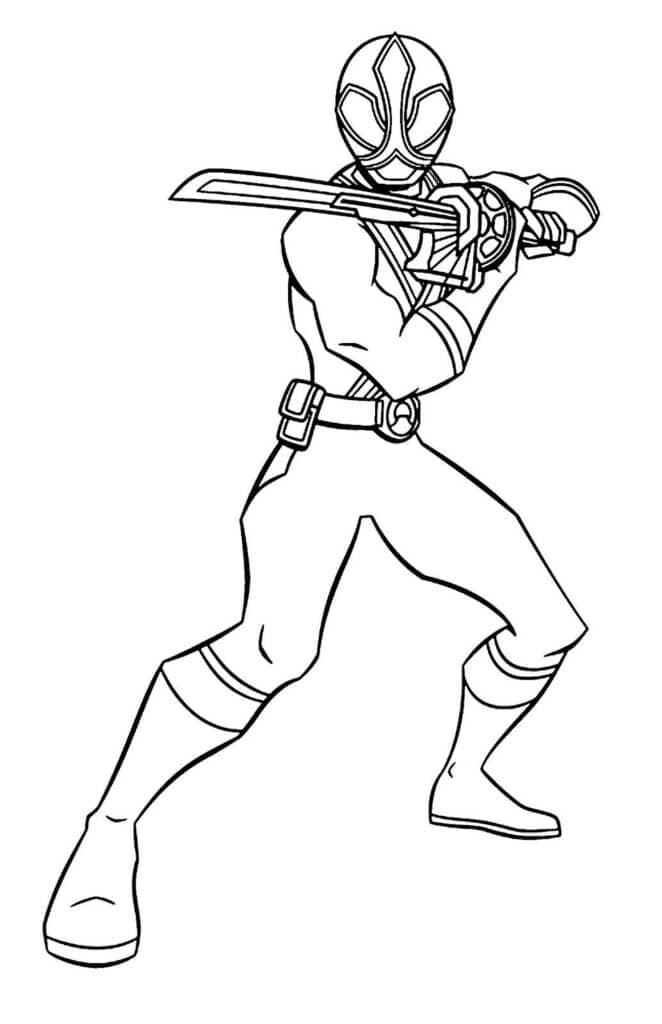 Tranh siêu nhân thần kiếm