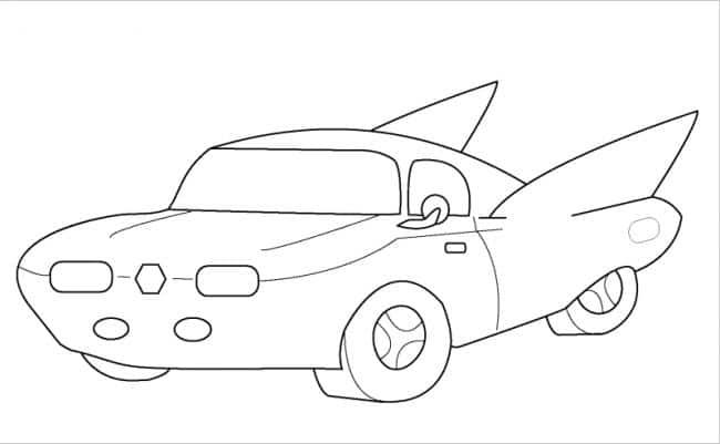 Tuyển tập hình vẽ ô tô