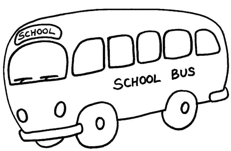 Xe bus cho bé tập tô
