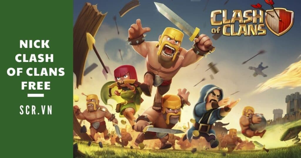 nick clash of clans free