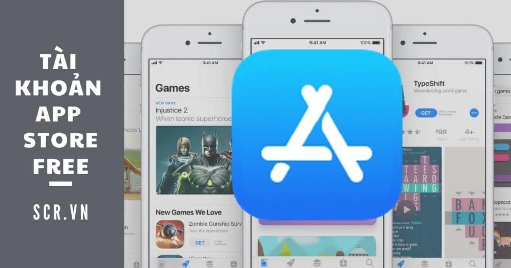 tài khoản app store free
