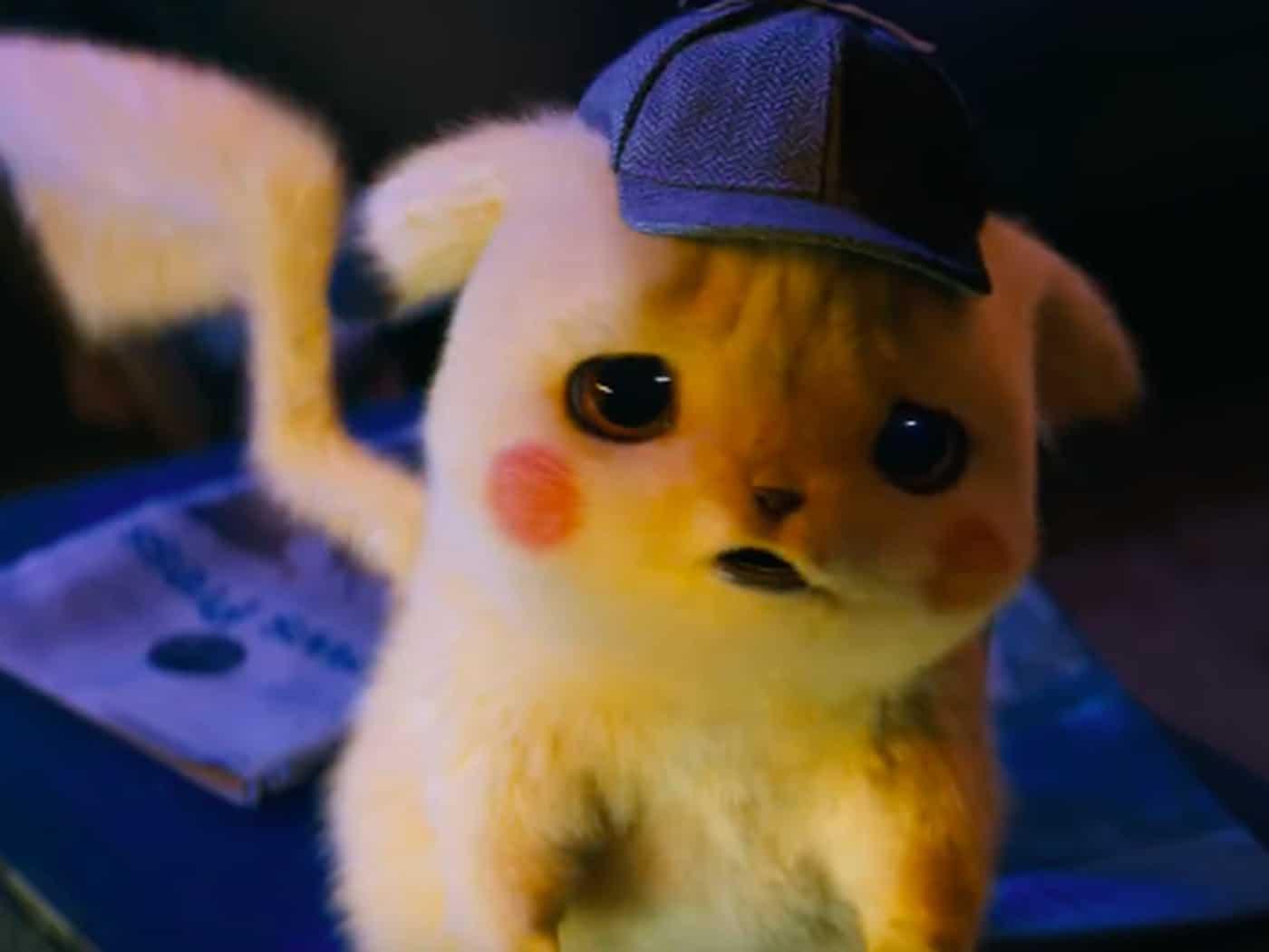 Ảnh Pikachu lo lắng 3D