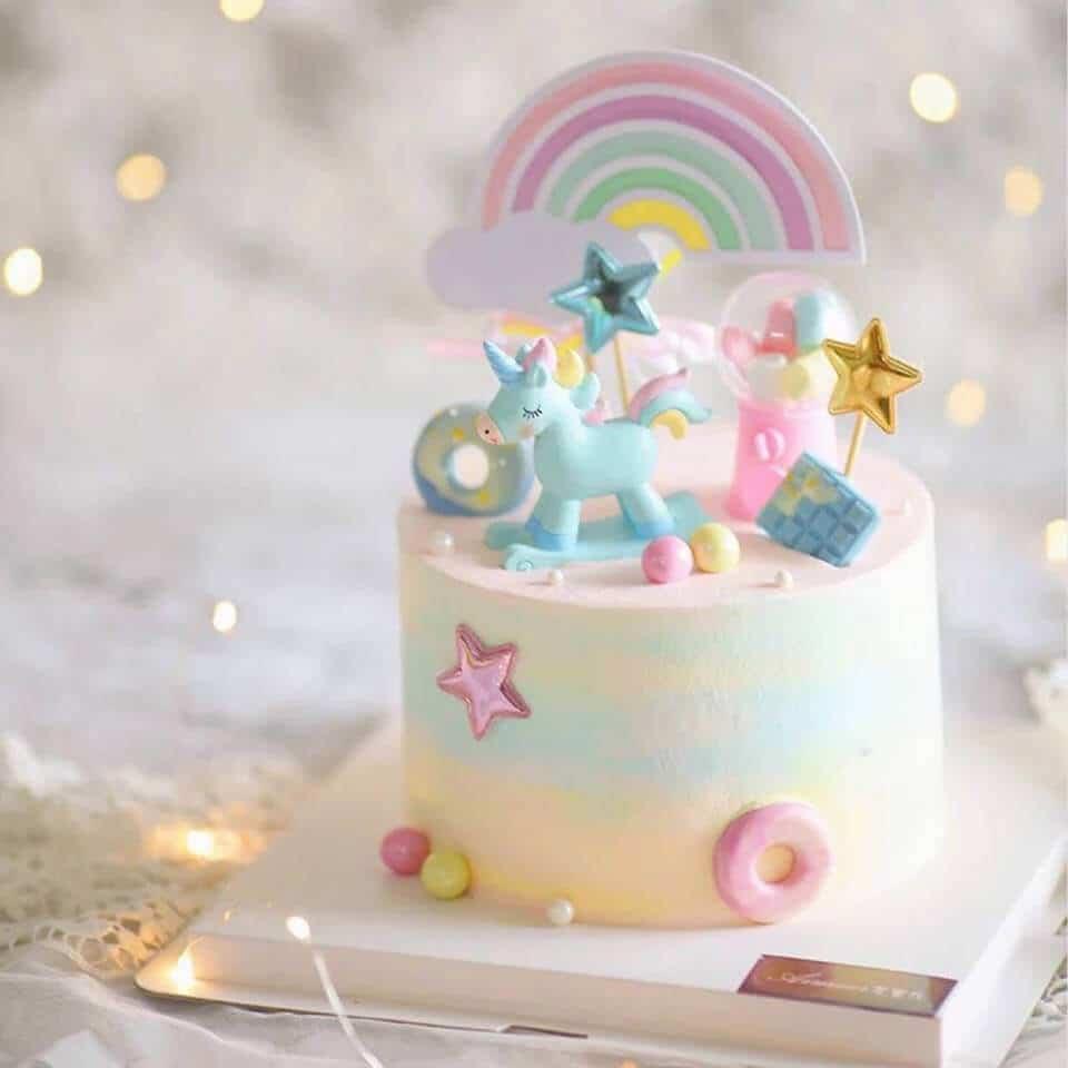 Ảnh bánh sinh nhật đẹp cute cho bé gái