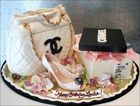 Ảnh bánh sinh nhật độc đáo dành cho những cô gái sành điệu