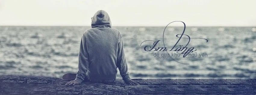 Ảnh cô đơn nam làm bìa facebook