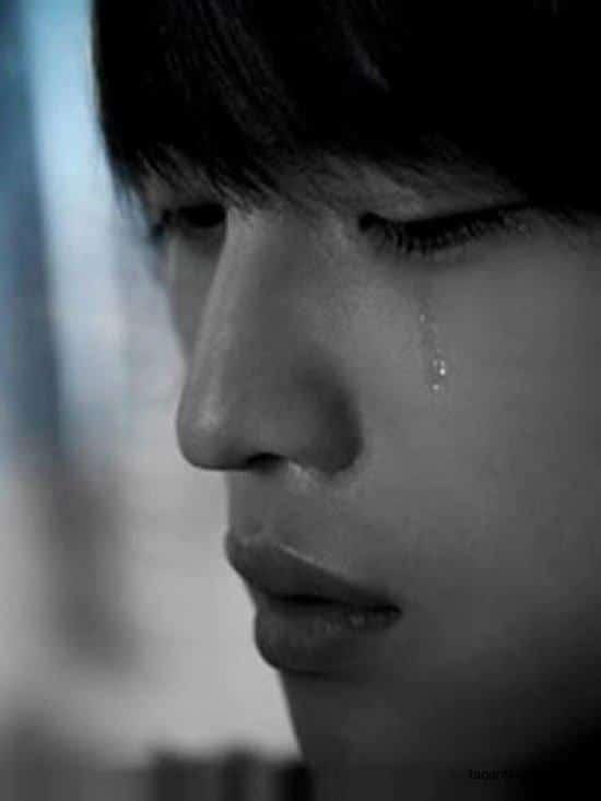 Ảnh con trai khóc