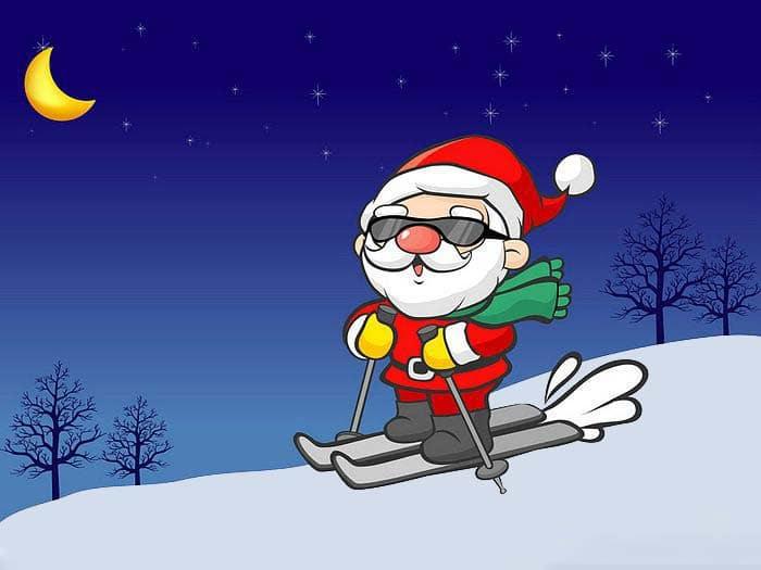 Ảnh đẹp ngộ nghĩnh về ông già Noel