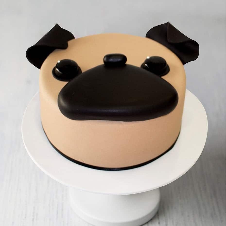 Bánh hình mặt chó đơn giản nhưng siêu buồn cười