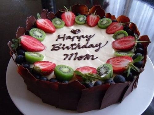 Bánh kem đẹp tặng sinh nhật mẹ
