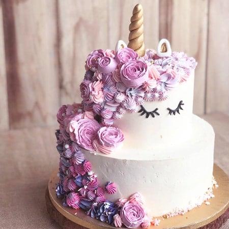 Bánh sinh nhật đáng yêu cho bé gái