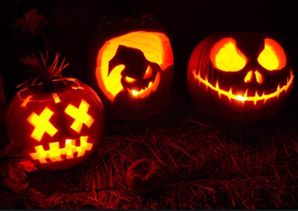 Bí ngô Halloween đẹp
