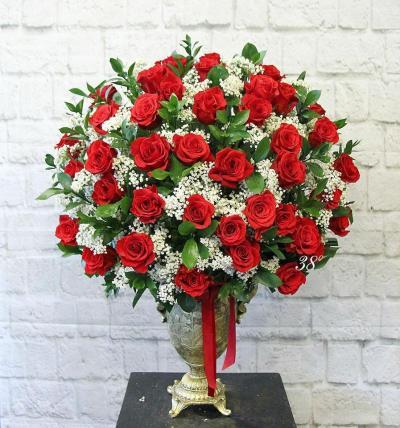Bình hoa hồng mừng ngày sinh nhật
