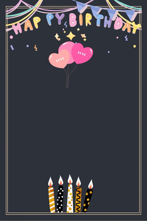 Bộ thiệp đẹp ngất ngây để ghi lời chúc ngày sinh nhật
