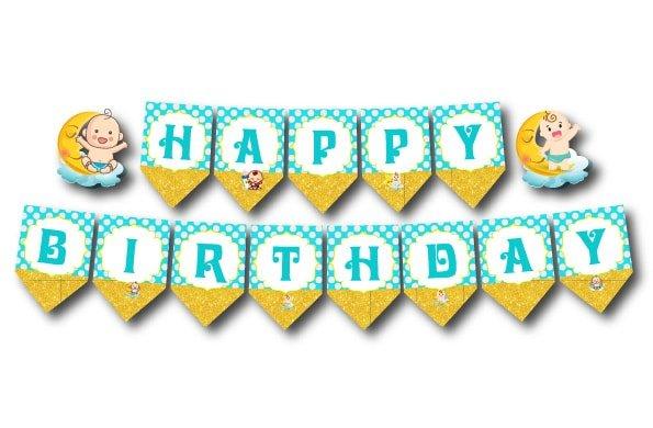 Chữ chúc mừng sinh nhật ngộ nghĩnh và đáng yêu