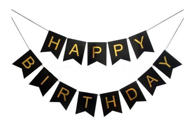 Chữ sinh nhật đơn giản và ngộ nghĩnh